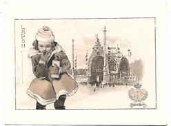 CHROMO - Le Chocolat LOMBART à L'Exposition Universelle De 1900 - Lapon - Lombart