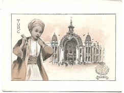 CHROMO - Le Chocolat LOMBART à L'Exposition Universelle De 1900 - Turc - Lombart