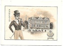 CHROMO - Le Chocolat LOMBART à L'Exposition Universelle De 1900 - Anglais - Lombart