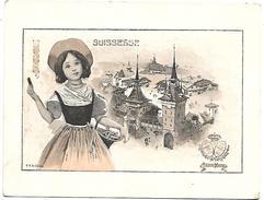 CHROMO - Le Chocolat LOMBART à L'Exposition Universelle De 1900 - Suissesse - Lombart