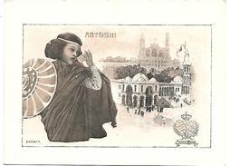 CHROMO - Le Chocolat LOMBART à L'Exposition Universelle De 1900 - Abyssin - Lombart