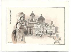 CHROMO - Le Chocolat LOMBART à L'Exposition Universelle De 1900 - Roumanie - Lombart