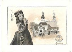 CHROMO - Le Chocolat LOMBART à L'Exposition Universelle De 1900 - Russe - Lombart