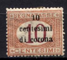 Trento E Trieste 1919 Sass.Segn.2 */MH VF/F - 8. WW I Occupation