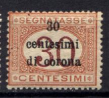 Trento E Trieste 1919 Sass.Segn.4 **/MNH VF/F - 8. WW I Occupation