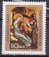 Timbre-poste Gommé Surtaxé Neuf** - Noël La Naissance Du Christ Par Bertram Von Minden - N° 993 (Yvert) - RFA 1982 - [7] Federal Republic
