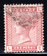 Great Britain Used #79 1p Victoria Position: LE
