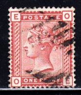 Great Britain Used #79 1p Victoria Position: OE