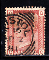 Great Britain Used #79 1p Victoria Position: GC Dated: AP 2 81