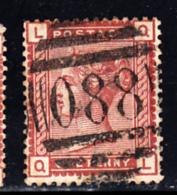 Great Britain Used #79 1p Victoria Position: QL Cancel: 088