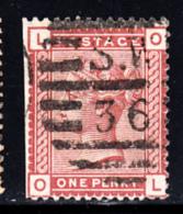 Great Britain Used #79 1p Victoria Position: OL