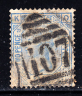 Great Britain Used #82 2 1/2p Victoria Plate #22 Position: OK Cancel: 107