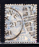 Great Britain Used #82 2 1/2p Victoria Plate #23 Position: MC