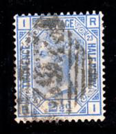Great Britain Used #82 2 1/2p Victoria Plate #23 Position: RI