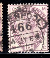 Great Britain Used #99 1 1/2p Victoria Position MC - Oblitérés