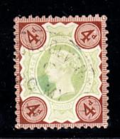 Great Britain Used #116 4p Victoria