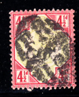 Great Britain Used #117 4 1/2p Victoria