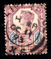 Great Britain Used #118 5p Victoria Die II Cancel: OC 11 93