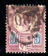 Great Britain Used #118 5p Victoria Die II Cancel: 80