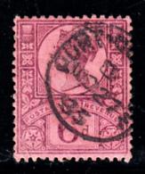Great Britain Used #119 6p Victoria CDS