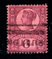 Great Britain Used #119 6p Victoria