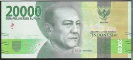 Indonesia 20000 Rupiah 2016 Pnew UNC - Indonésie