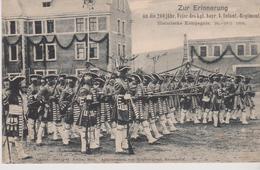 MILITARIA .METZ (57) ZUR ERINNERUNG An Die 200 Jähr . Feier Des Kgl. Bayr. 4. Infant. Regiments (26-28/5/1906) - Metz