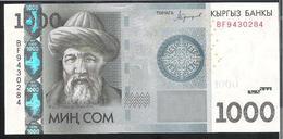 Kyrgyzstan 1000 Som 2016 Pnew UNC - Kyrgyzstan