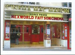 Cinéma Mac Mahon - Paris XVII ème - Cpm 2014 - Collection Ciné Cinéma De Paris - Dos Noir - Tirage Limité - Cinema
