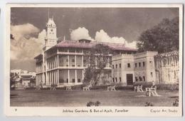 Africa Tanzania Zanzibar Jubilee Garden & Bet El Ajaib Real Photo Ca. 1950 - Tanzanie