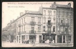 CPA Brüssel / Bruxelles, Koekelberg, Avenue Broustin, Succursale Delhaize Et Boucherie Kumps