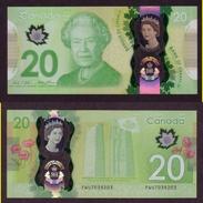 Cabada, 2015, 20$, EMISSION SPECIALE, Jubilée De La Reine, Queen Jubile Special Issue, Monument De Vimy - Canada