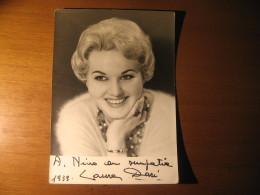 CARTOLINA   LAURA DARI   AUTOGRAFATA 1959  -  B -  285 - Fotografia