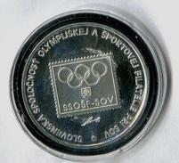 590-SLOVAKIA Prepaid Envelope Philatelic Exhibit.-Olymphilex Qualification For Atlanta 1996 Medal For Exhibit In Bubble - Summer 1996: Atlanta