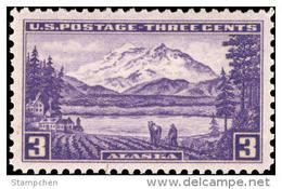 1937 USA Alaska Territorial Stamp Sc#800 History Mount Horse Farm