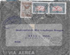 ARGENTINA → Por Avion, Letter San José To Switzerland ►Air Mail Stamp 1933◄ - Poste Aérienne