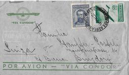 ARGENTINA → Par Avion - Via Condor, Letter Buenos Aires To Switzerland ►Air Mail Stamp 1922◄ - Poste Aérienne