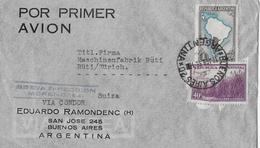 ARGENTINA → Por Primer Avion, Letter Buenos Aires To Switzerland ►Air Mail Stamp 1931◄ - Argentine