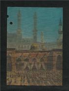 Saudi Arabia 3 D Picture Postcard Holy Mosque Madina  Plastic View Card  AS PER SCAN - Arabie Saoudite