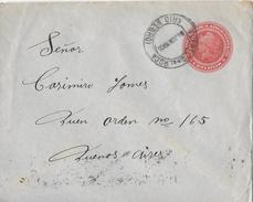 REPUBLICA  ARGENTINA → Letter To Gral Roca/Rio Negro  ►5 Centavos 1905◄ - Entiers Postaux
