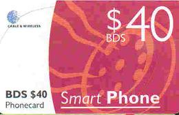 TK9572 Barbados - Chip BDS $40