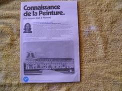 Dossiers Connaissances Chocolat Poulain, Connaissances De La Peinture (du Moyen âge à Renoir). - Poulain