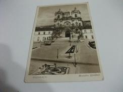 CHIESA EGLISE IGLESIA CHURCH ALCOBACA MOSTEIRO FRENTE - Iglesias Y Catedrales