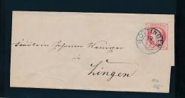 Hannover -   Stempel Beleg    (g8341  ) Siehe Bild !