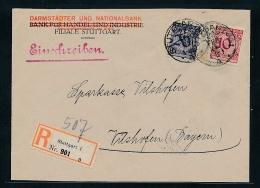 R.-Brief Stuttgart  ( G8049  ) Siehe Bild !