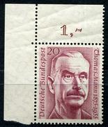 Michel 237 Thomas Mann Postfrisch (1-309)