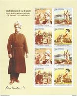 INDIA 2013 Swami Vivekananda MINIATURE SHEETLET 10 Nos. MNH