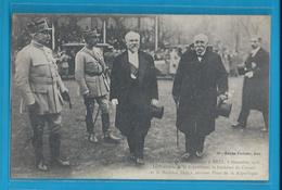 C.P.A. - METZ - 1918 - Pétain Et Le Président De La République R.Poincaré - Metz