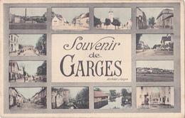 GARCHES  EN HAUTS DE SEINE  CARTE SOUVENIR  CPA  CIRCULEE VOIR VERSO - Garches