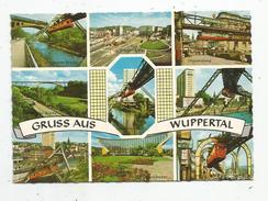 G-I-E , Cp , Allemagne , Gruss Aus WUPPERTAL ,multi Vues , Métro , Chemin De Fer , Vierge , Ed : Knappe - Wuppertal